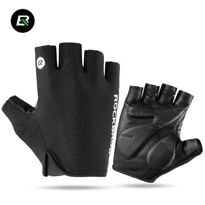 Rockbros Half Finger Cycling Gloves1