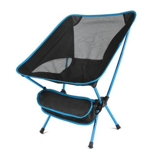 Ultralight Compact Foldable Camping Chair, camping chair, portable camping chair, compact camping chair, low back camping chairs, compact folding camping chairs