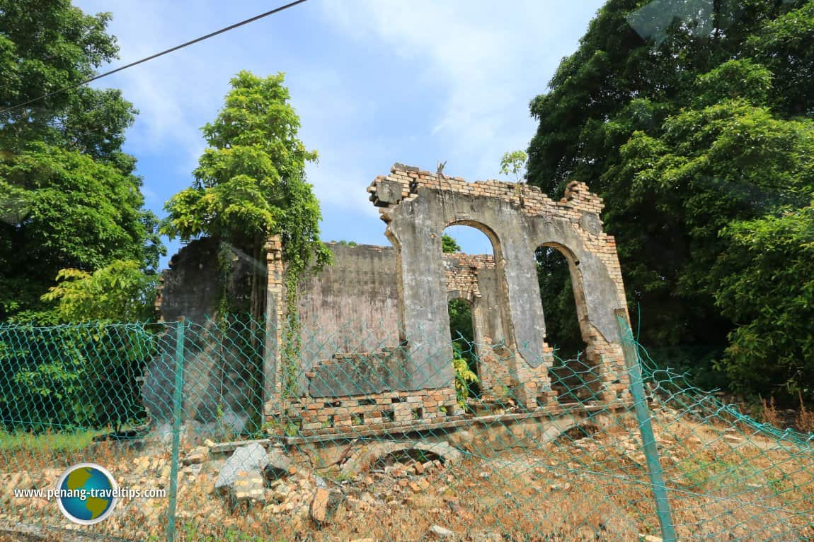 ruins of old kuala langat district office