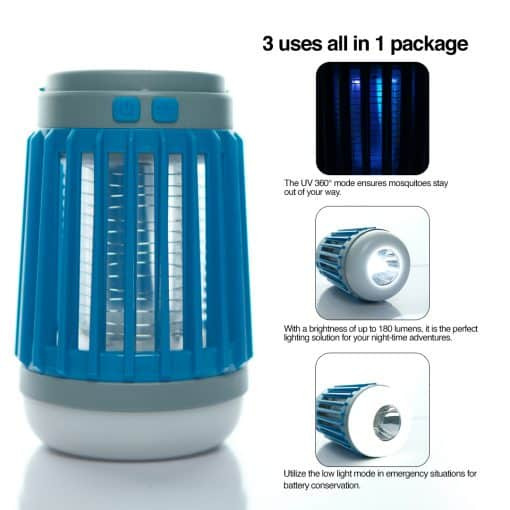 3 in 1 Solar USB Outdoor Lantern 2
