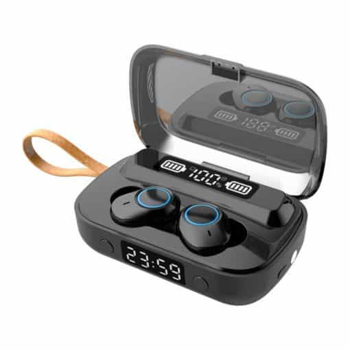 Azer Bluetooth Wireless Earphone Black