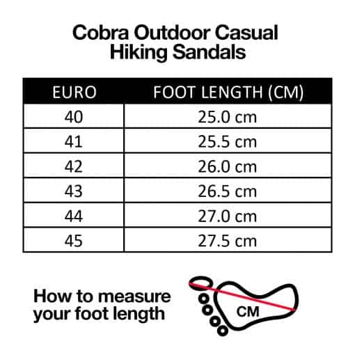 Cobra Outdoor Casual Hiking Sandals 1