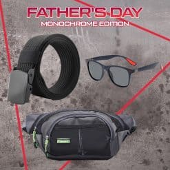 Father's Day Combo, Father's Day, Fathers Day Gift, Belt, Polarized Sunglasses, Pouch Bag