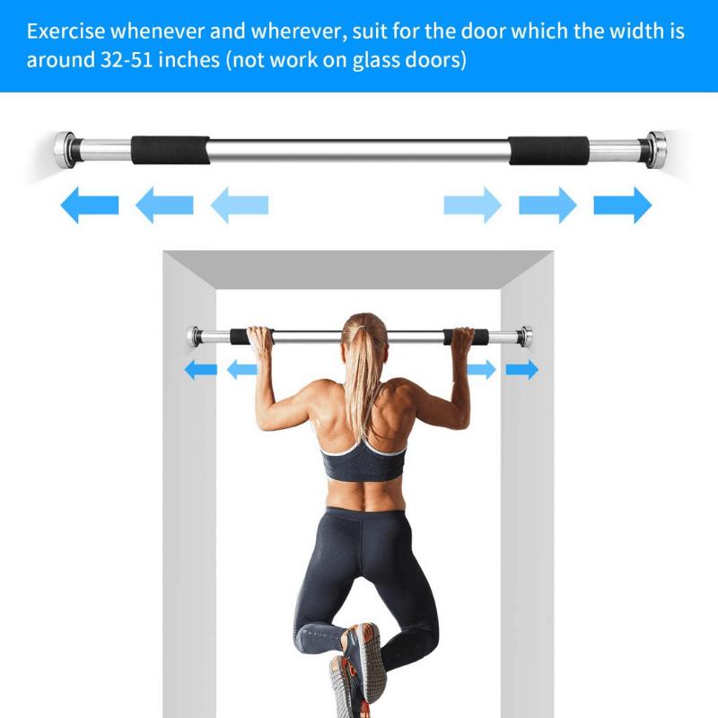 POWER BEARR Fitness Doorway Pull Up Bar, palang, gym, besi, push up, sado