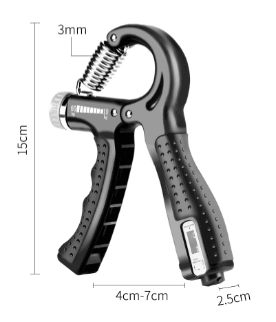 Hand Gripper with Counter size