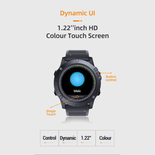 Spovan Vibe HR Smartwatch SW03 2