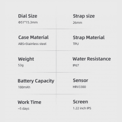 Spovan Vibe HR Smartwatch SW03 3