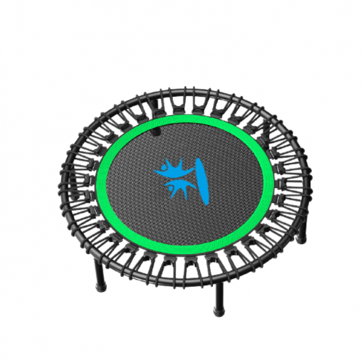 Fitness Trampoline with Adjustable Handle Bar 1
