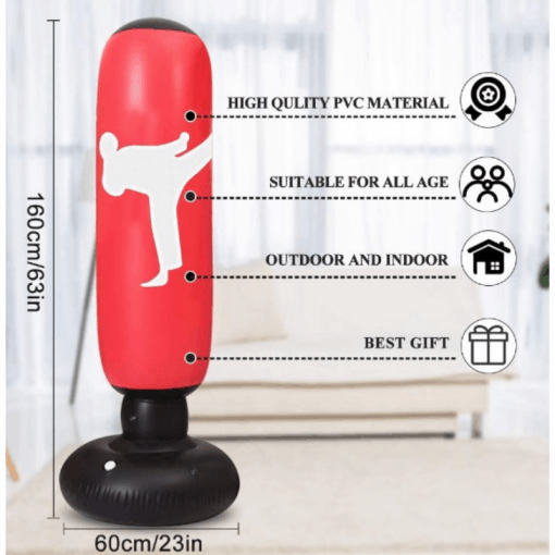 Inflatable Fitness Punching Bag 2