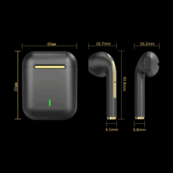 J18 TWS Earbuds with Wireless Charging Case 5