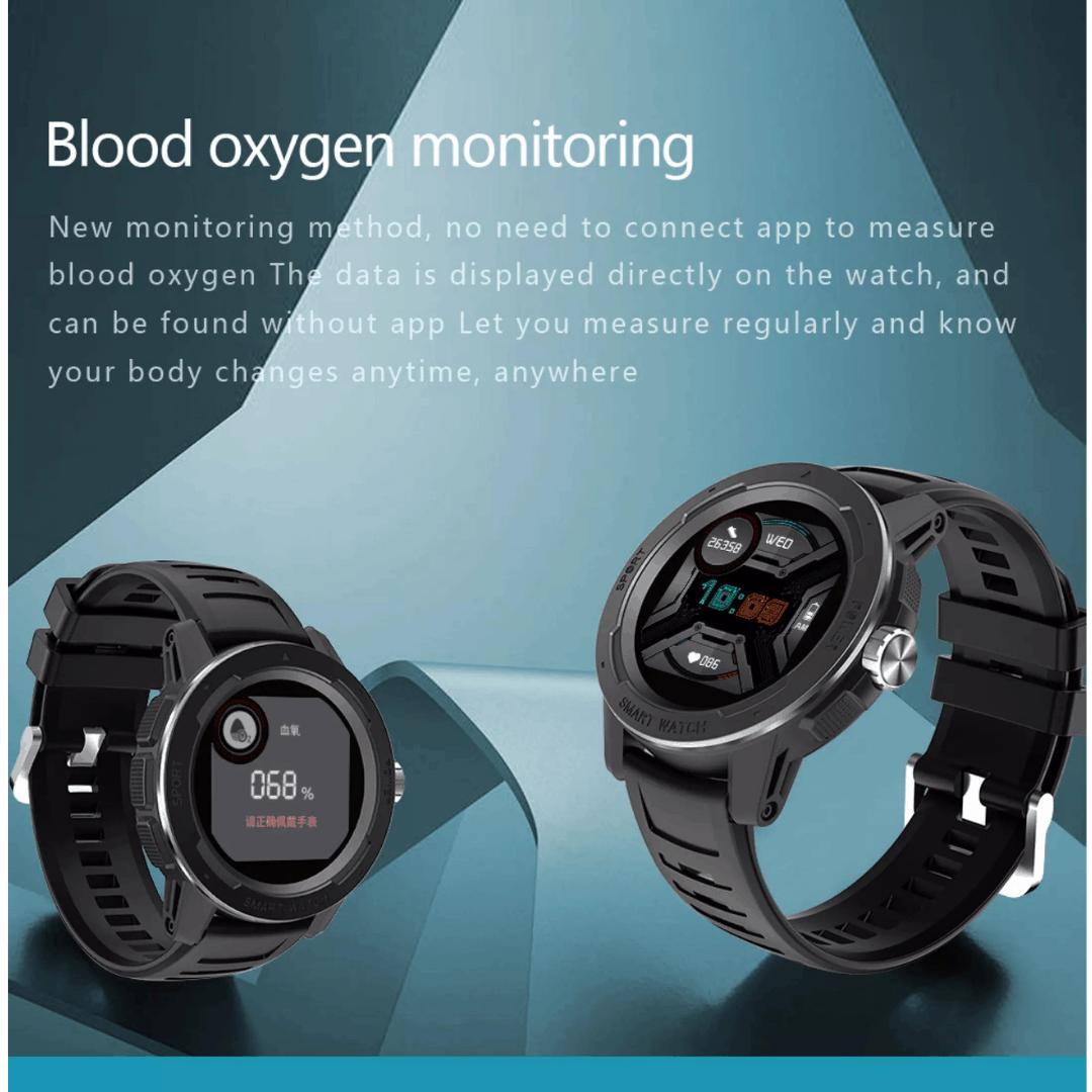 NORTH EDGE Mars 2 Smartwatch, smartwatch, waterproof smartwatch, smartwatch malaysia, north edge malaysia, fitness watch