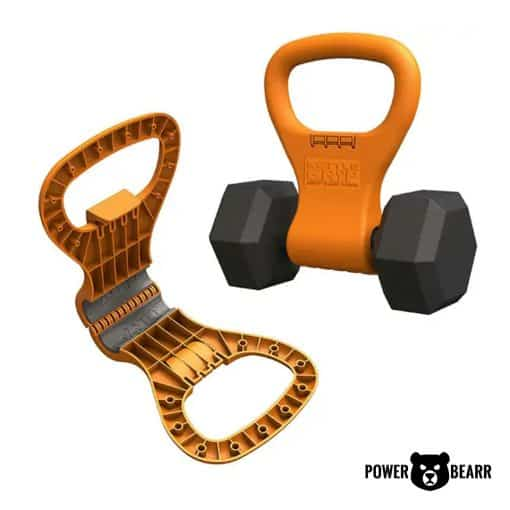 Power Bearr Dumbbell Kettle Grip with Handle