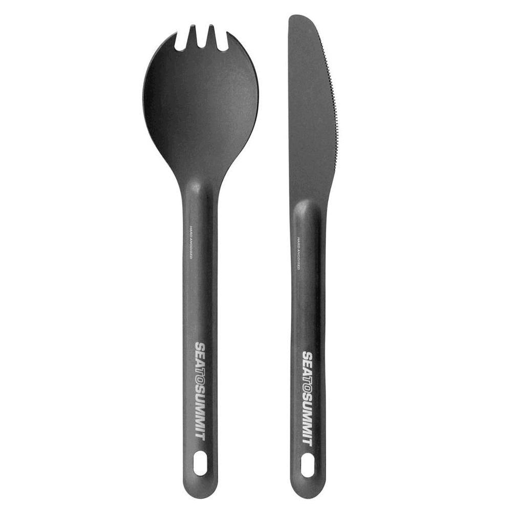 2pcs Cutlery, Camp Kitchen, SEATOSUMMIT kitchen set, cutlery set, cutlery