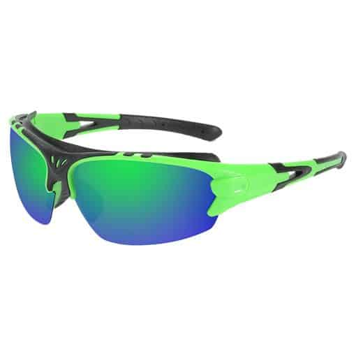 TBF HD Polarized Sports Sunglasses Lime Green