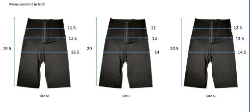 TBF Womens Compression Biker Shorts with Corset SC