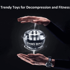 Wrist Trainer Gyro Ball with LED 3