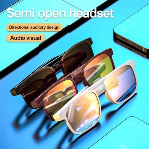 X12 Bone Conduction Anti UV Sunglasses 2