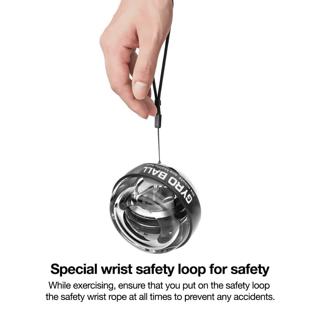 Wrist Trainer Gyro Ball with LED, wrist trainer, hand grip exercises gyro ball, gyrro ball exerciser grip training