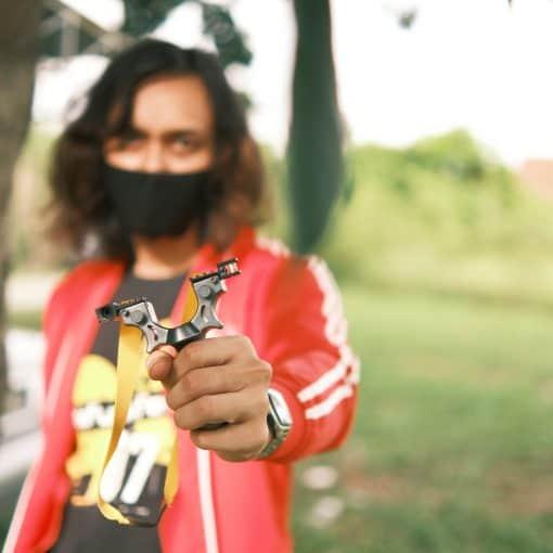slingshot, catapult slingshot, laser slingshot, hunting slingshot, best hunting slingshot