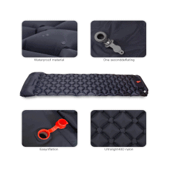 Inflatable Sleeping Pad with Pillow 2