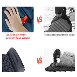 Inflatable Sleeping Pad with Pillow 3