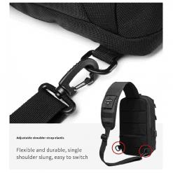 OZUKO Crossbody Sling Bag 1