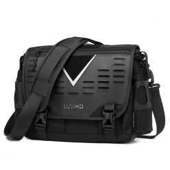OZUKO Oxford Messenger Bag 7