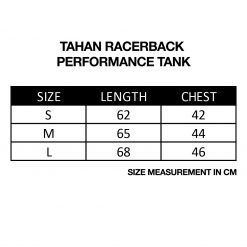TAHAN Racerback Performance Tank
