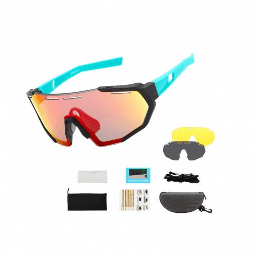XQ5 Youth Cycling Polarized Sunglasses 4