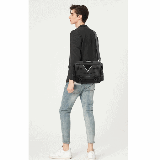 OZUKO Oxford Messenger Bag 3