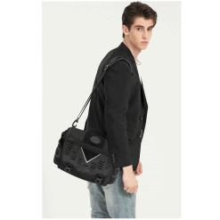 OZUKO Oxford Messenger Bag 4