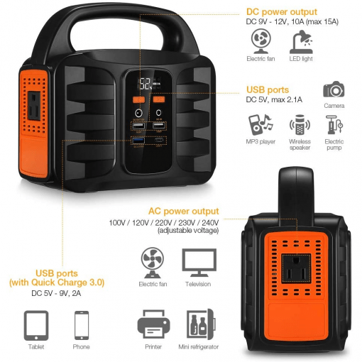 Portable power station 100