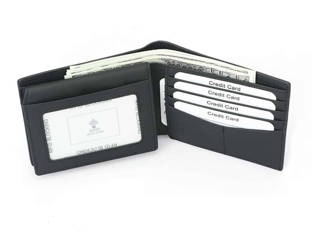 rfid-blocking, rfid wallets for men, rfid card holder, rfid bifold wallet, mens bifoldwallet