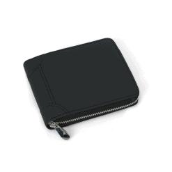 RFID Blocking Leather Zip Wallet 2