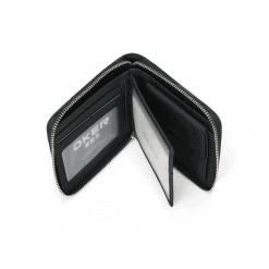 RFID Blocking Leather Zip Wallet 8