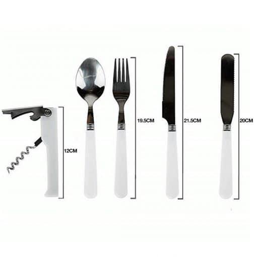 TAHAN Stainless Steel Portable Cutlery Set 3