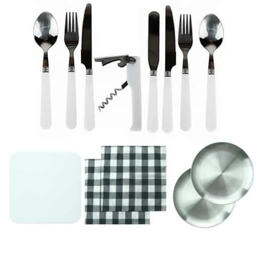 TAHAN Stainless Steel Portable Cutlery Set 4
