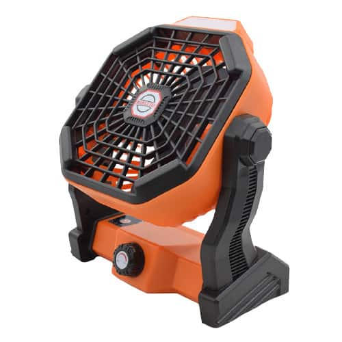 X2 Rechargeable Camping Fan with LED Lantern 7