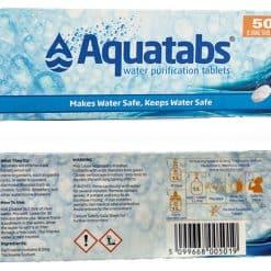AQUATABS WATER PURIFICATION TABS 8.5MG 5X10S 04
