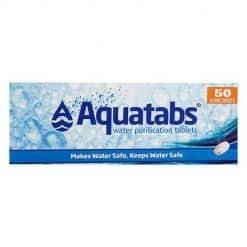 AQUATABS WATER PURIFICATION TABS 8.5MG 5X10S Main