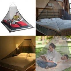 Camping Mosquito Net Canopy, netting, insects net, bugs net, protection for travel, net protection from bugs, jaring, kelambu, night sleeping, malam pertama, family net, big neg, large net, sleep net, nyenyak