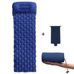 Dark Blue outdoor picnic mat ultralight airbag inf variants 3 1