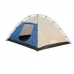 HIGH PEAK Tent Texel 4 double skin dome, stop, rain, outdoor, side wing, seam taped, dual entry, mesh door, polyester, sunscreen, ground sheet, flysheet, fiberglass, PE, inner tent, steel