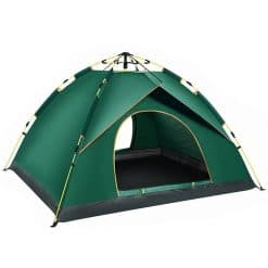 Instant Pop-up 2P Camping Tent, khemah, convenient, comfortable, breathble oxford tent, uv protection tent, sun screen, windprood, flysheet, outer tent, inner tent, 3 way tent, spacious space, large tent, family tent, easy tent, portable tent, lightweight tent, ringan, ruang, besar, canopy