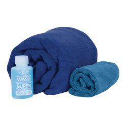 SEATOSUMMIT Tek Towel Wash Kit L Cobalt Blue