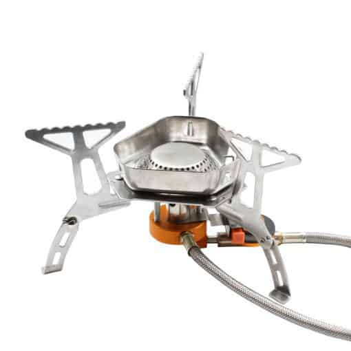 Windproof Portable Gas Stove with Piezo Ignitor 4
