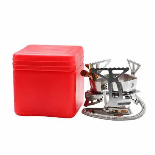 Windproof Portable Gas Stove with Piezo Ignitor 5