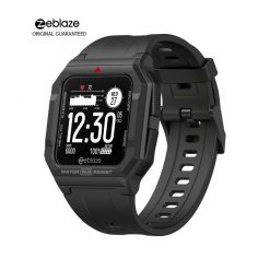 ZEBLAZE Ares Fitness Tracker, smart watch, jam tangan pintar, android, ios, smartwatch apps, running watch, cycling watch, jam, watches, men watch, unisez watch, rubber silicon, apple watch, samsung watch, zeblaze, lenovo, oppo, waterproof, water resistance, resistant, outdoor watch, GTS 2, GTR, fun keep, compatible, lightweight